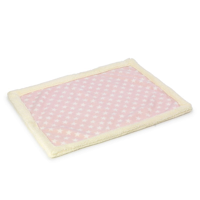 Pink Star Fleece Puppy Blanket by House of Paws - Fernie's Choice Classic Country Wear for Dogs
