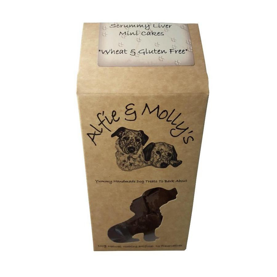 Alfie & Molly's Scrummy Liver Mini Cakes 150g