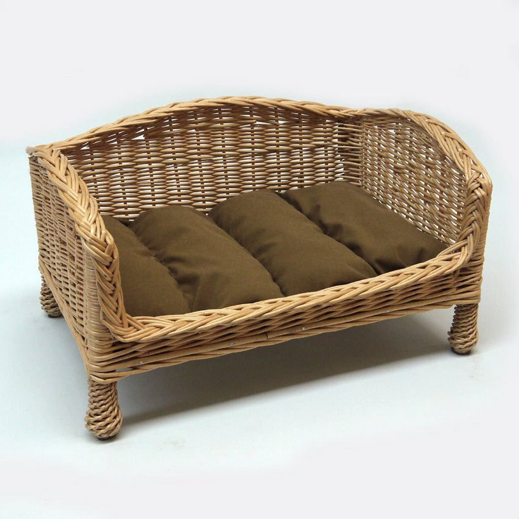 Luxury Wicker Dog Bed - Fernie's Choice Classic Country Wear for Dogs