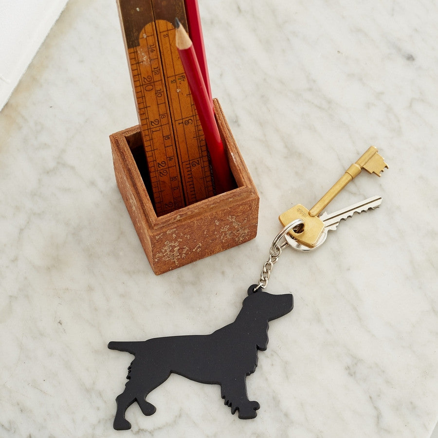 Spaniel Dog Keyring - Great Idea for Gifts for Dog Lovers - Fernie's Choice