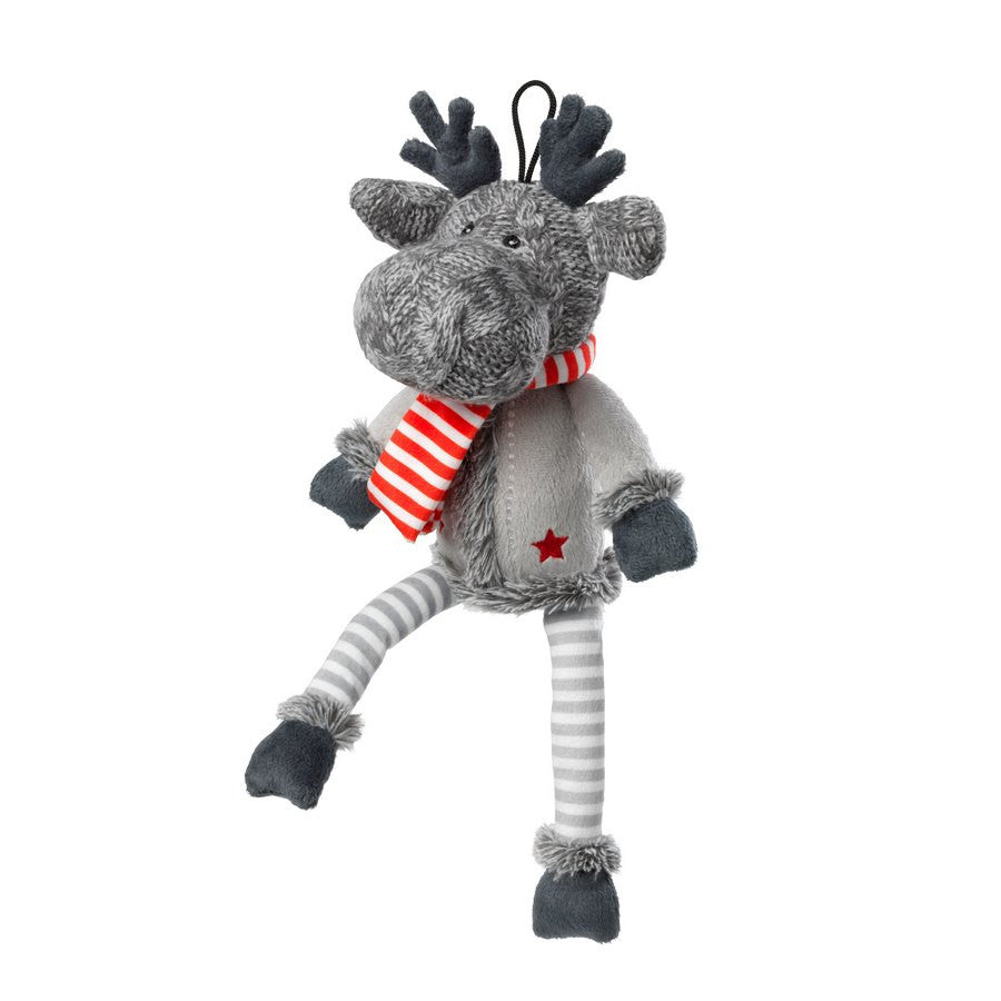 *Silent Night Squeaker Free Reindeer Christmas Dog Toy - Fernie's Choice Classic Country Wear for Dogs