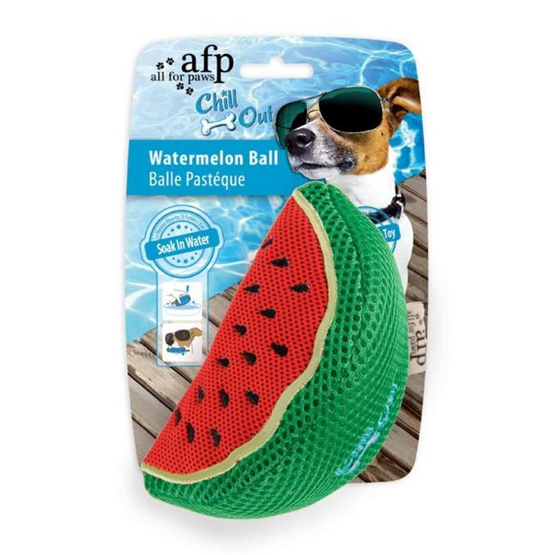 All for Paws Chill Out Watermelon Dog Toy from Fernie's Choice Dog Shop