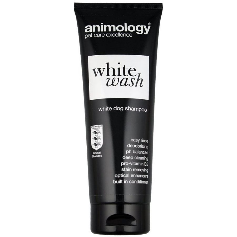 Animology White Wash Dog Shampoo 250ml - Fernie's Choice Classic Country Wear for Dogs