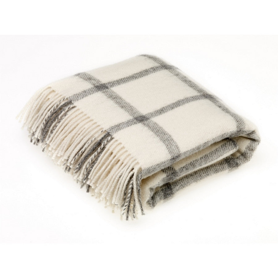 Bronte By Moon Throw - Windowpane Cream - Fernie's Choice Classic Country Wear for Dogs