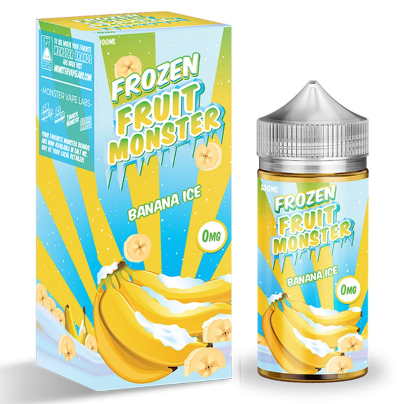 Banana Ice 100mL by Frozen Fruit Monster