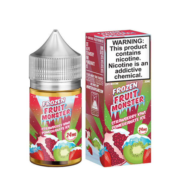 Strawberry Kiwi Pomegranate Ice 30mL Salt by Frozen Fruit Monster