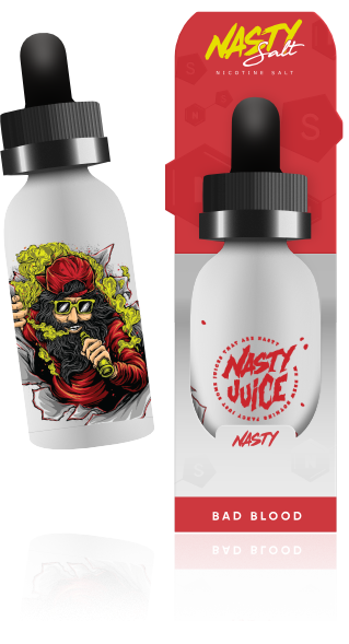 Bad Blood Salt Nic by Nasty Juice