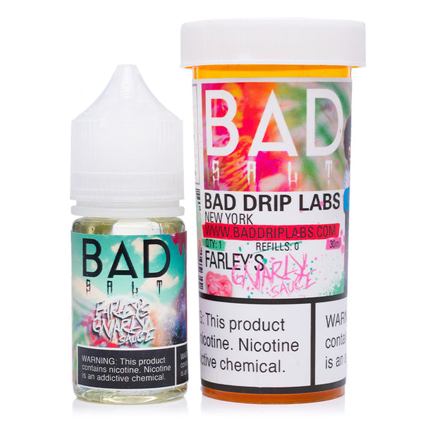 Farley's Gnarly Sauce 30mL Salt by Bad Drip