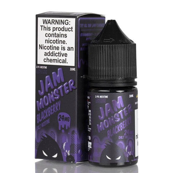 Blackberry 30ml Salt by Jam Monster