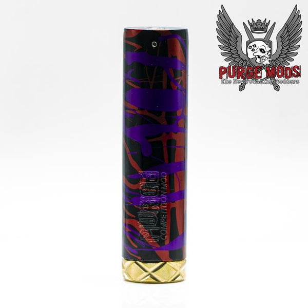 B2B V2 Anodized Aluminum Blem Purple, Red, Black by Purge Mods