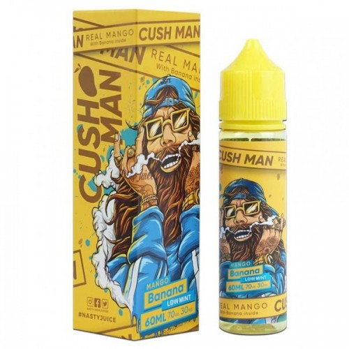 Cush Man Mango Banana 60 ML by Nasty Juice
