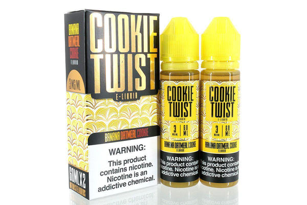 Banana Oatmeal Cookie 120ml by Twist Eliquids