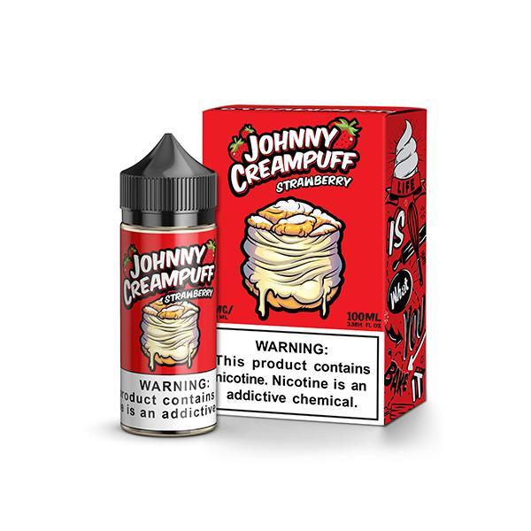 Strawberry 100ml by Johnny Creampuff