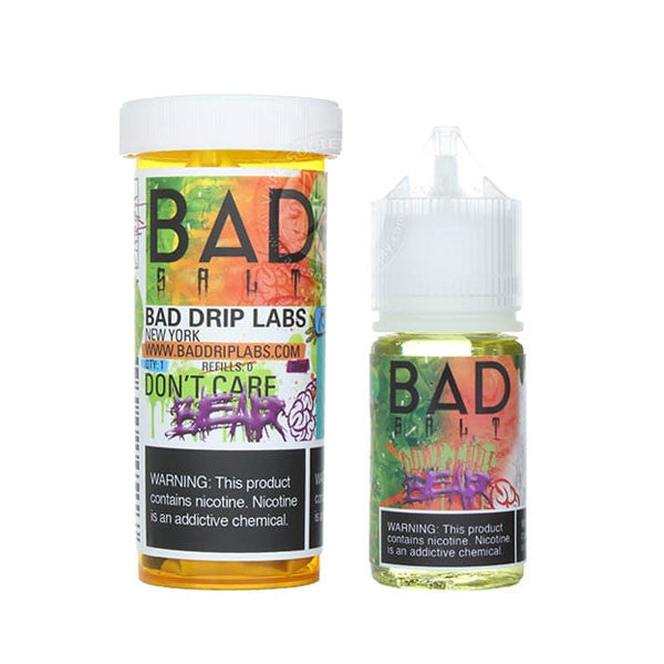 Don't Care Bear 30mL Salt by Bad Drip