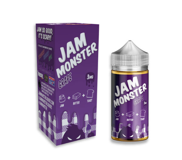 Grape 100 ML by Jam Monter