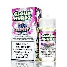 Grape Strawberry Iced 100ml by Cloud Nurdz