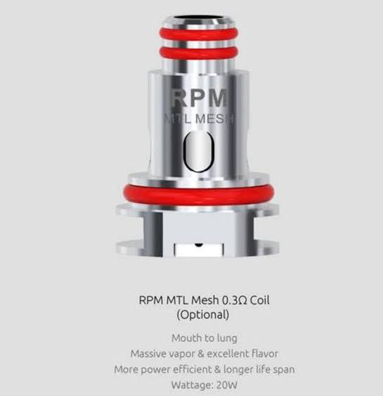 RPM 40 Coils by Smok