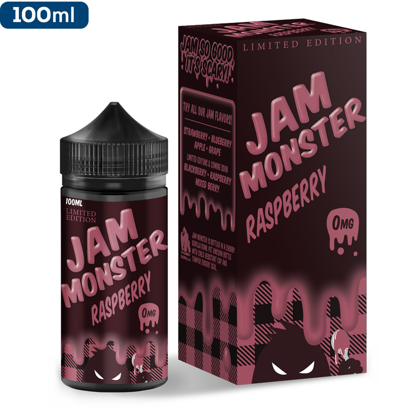 Raspberry 100ml by Jam Monster