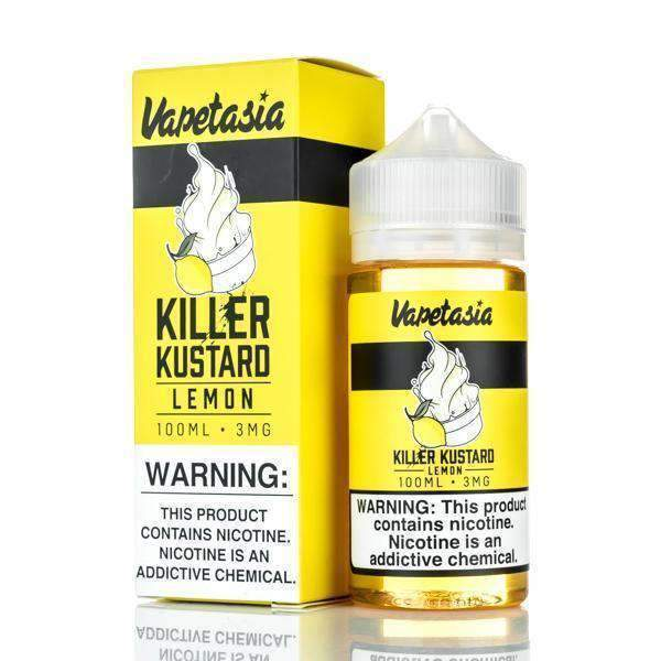 Killer Kustard Lemon 100ml by Vapetasia