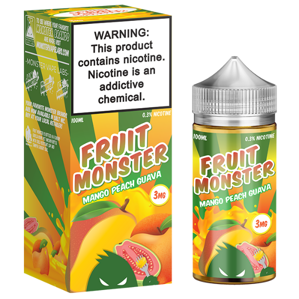 Mango Peach Guava 100ml by Fruit Monster