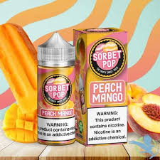 Peach Mango 100ml by Sorbet Pop