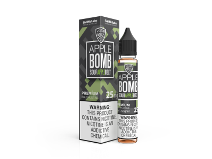 Apple Bomb 30ml Salt Nic by VGod
