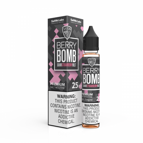 Berry Bomb 30ml Salt Nic by VGod