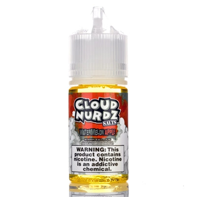 Watermelon Apple 30ml Salt Nic by Cloud Nurdz