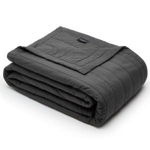 Organic Cotton Quilt-Smoky white/Charcoal gray - endlessbay