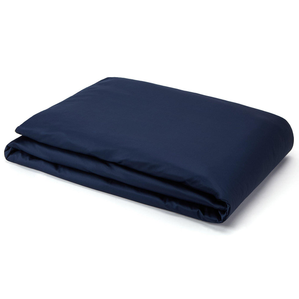 Organic Cotton Duvet Cover-Deep Blue - endlessbay