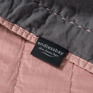 Reversible Organic Cotton Quilt | endlessbay High End Luxury Bedding