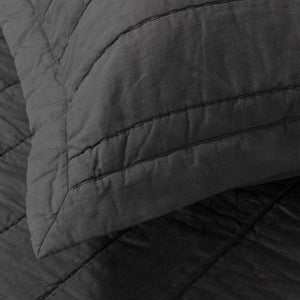 Organic Cotton Quilt-Buff/Gray - endlessbay (4414470422601)