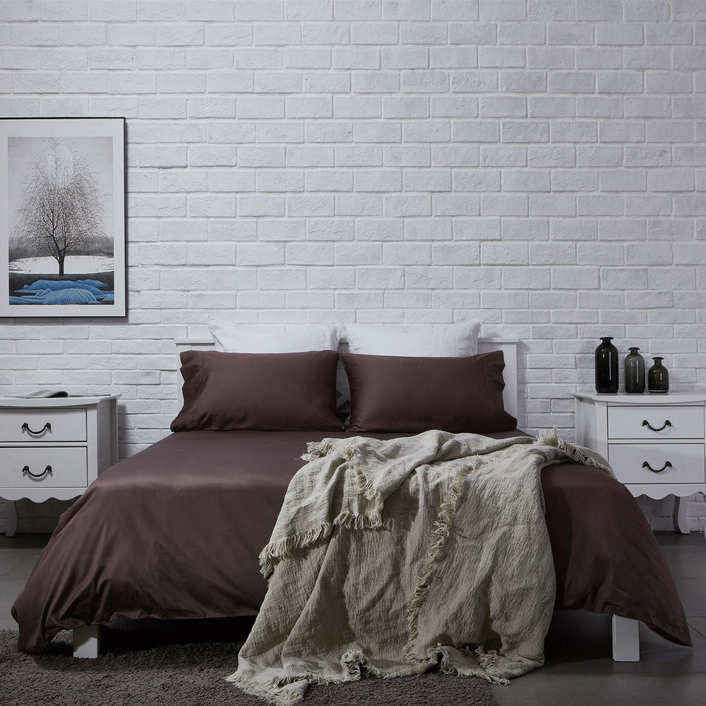 Organic Cotton Duvet Cover-Dawn Grey - endlessbay