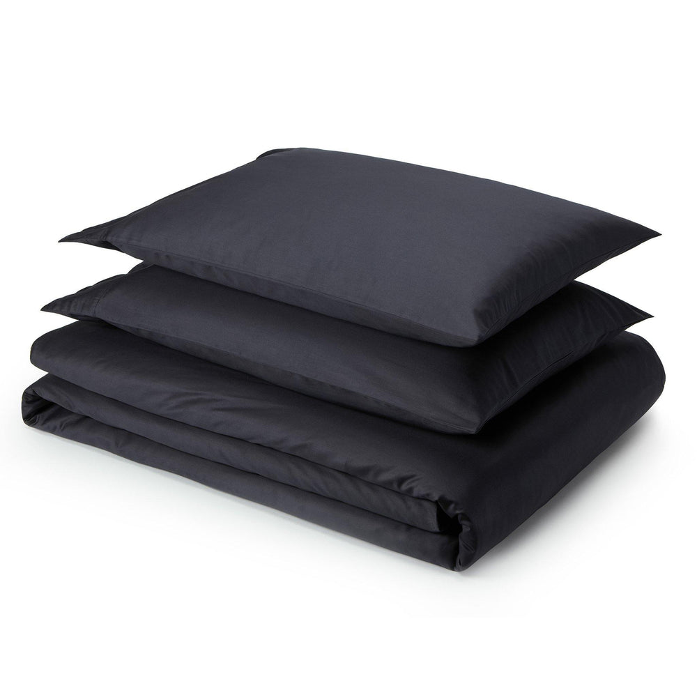 Essential Organic Cotton Sheet Set-Anchor Grey - endlessbay
