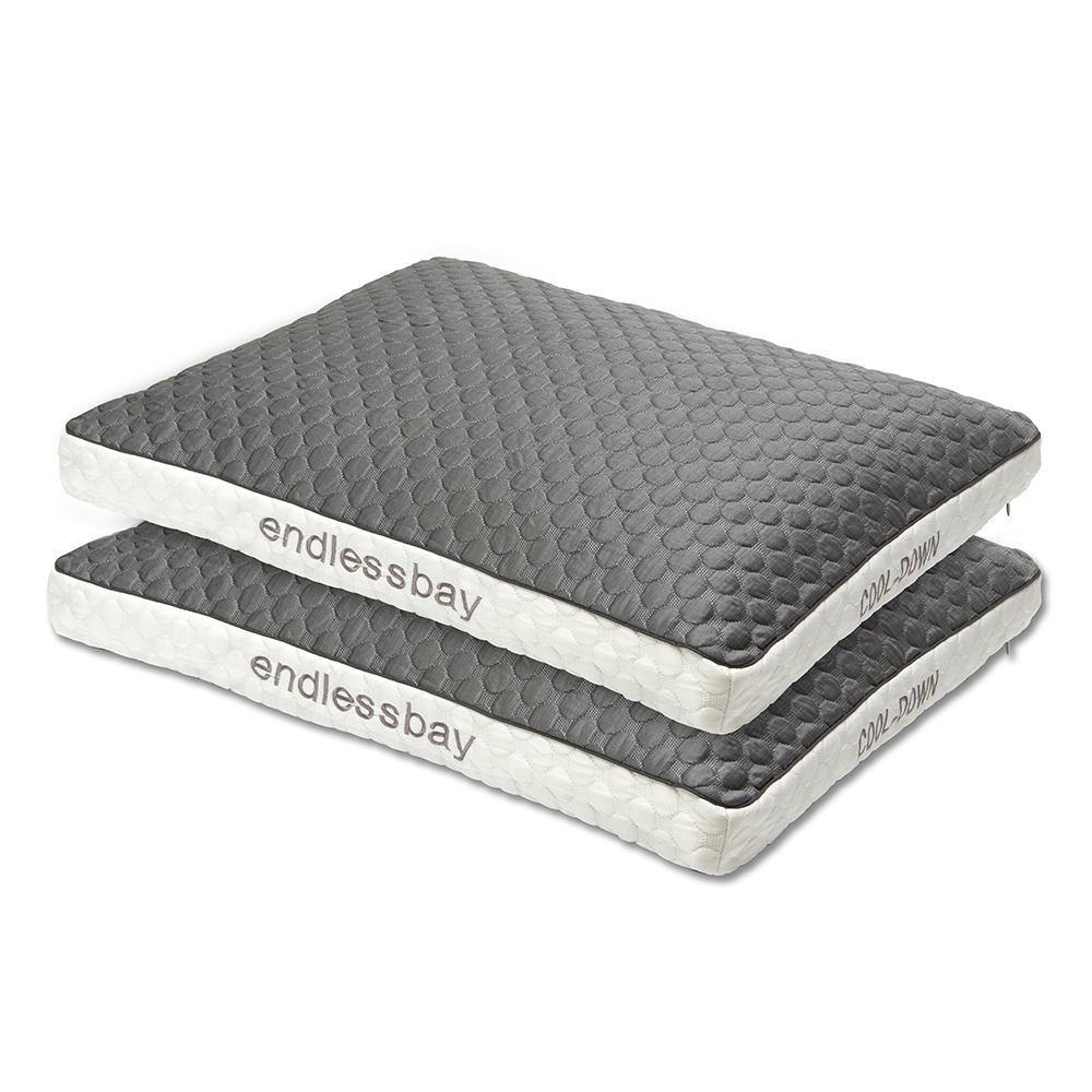 Cooling Pillow Cover-Grey - endlessbay
