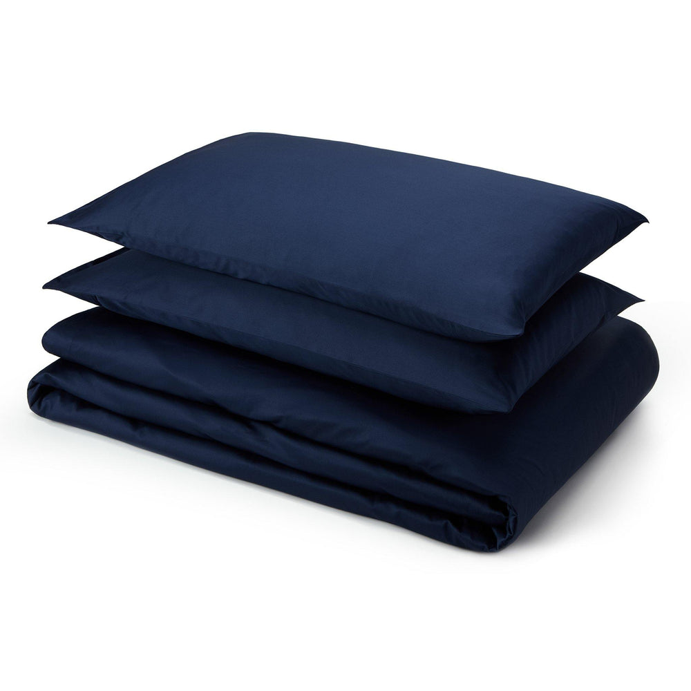Essential Organic Cotton Sheet Set-Deep Blue