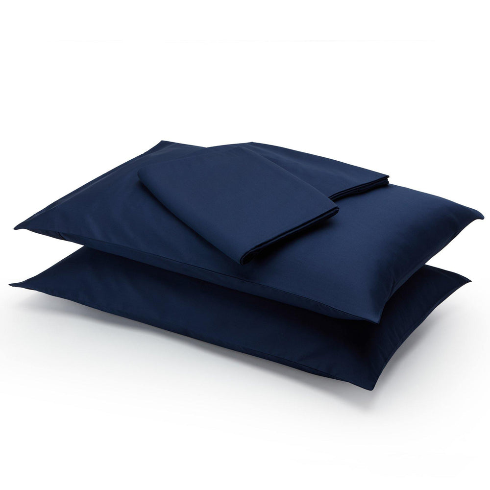 Essential Organic Cotton Sheet Set-Deep Blue - endlessbay (4411627176009)