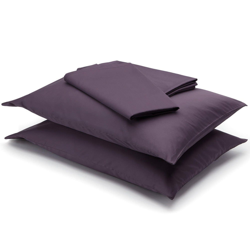 Essential Organic Cotton Sheet Set-Sangria - endlessbay
