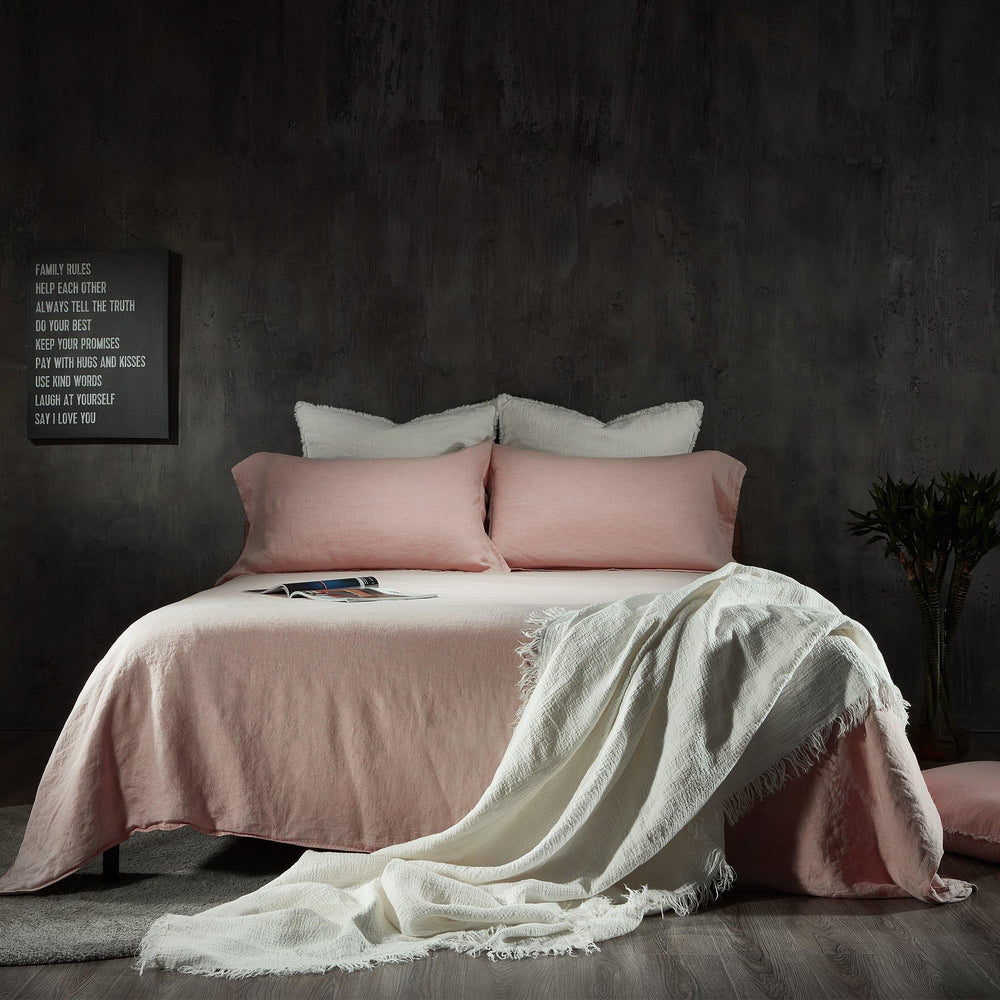 Linen Duvet Cover-Dusk Grey - endlessbay