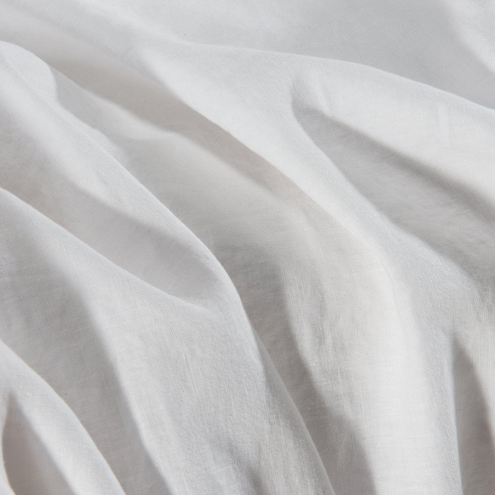Essential Linen Sheet Set-Shell Ivory - endlessbay