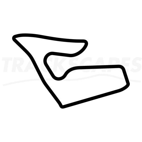 Red Bull Ring Circuit Wooden Racing Track Replica Wall Art Shape Layout