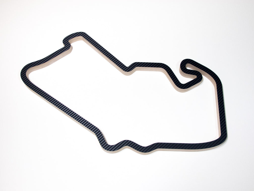 Silverstone GP Circuit (2000-09) F1 Wall Art Sculpture