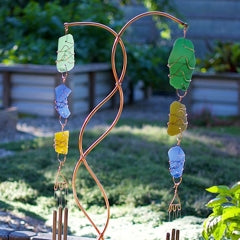 Double Freestanding Wind Chime, Coast Chimes