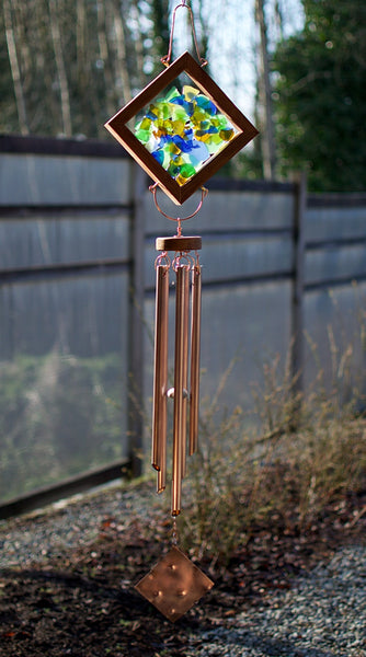 Wind Chime Mosaic Suncatcher Windchimes