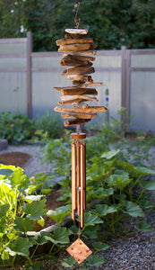 Wind Chime Natural Driftwood Outdoor Windchimes