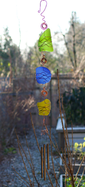 Colorful Outdoor Handcrafted Wind Chimes