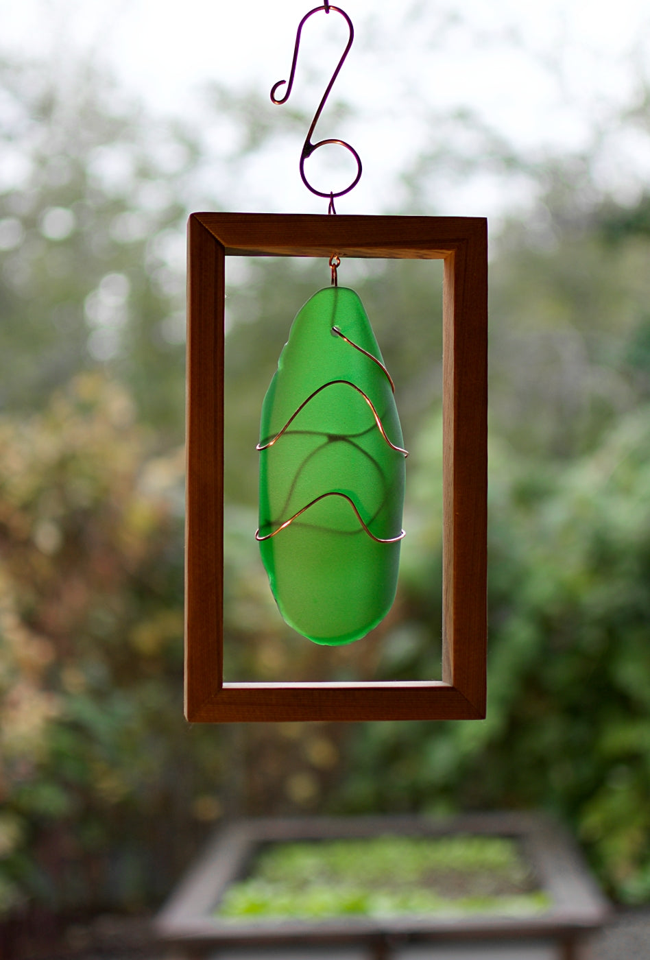 Suncatcher Sea Glass Beach Glass Sun Catcher Hanging
