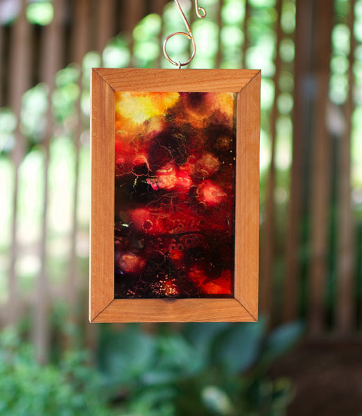 Original Art Suncatcher Hanging