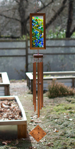 Windchime Sea Glass Outdoor Large Wind Chime