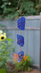 Stained Glass Suncatcher Sea Glass Sun Catcher